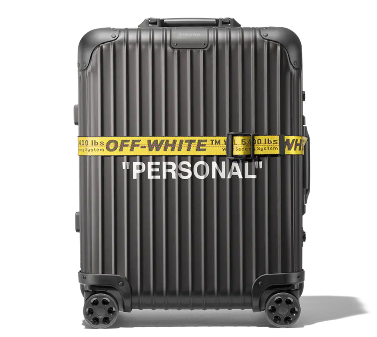 "Rimowa x Off-White ""Personal Belongings"""