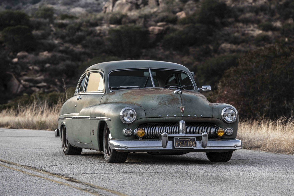 Southern California Electric >> Icon's latest Derelict is an all-electric 1949 Mercury ...