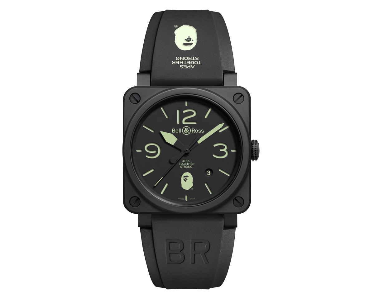 Bell And Ross Watches >> Bape Releases A Limited Edition Watch Collection With Bell Ross
