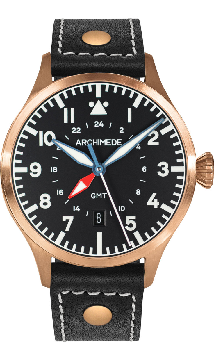 Archimede Bronze GMT 42mm