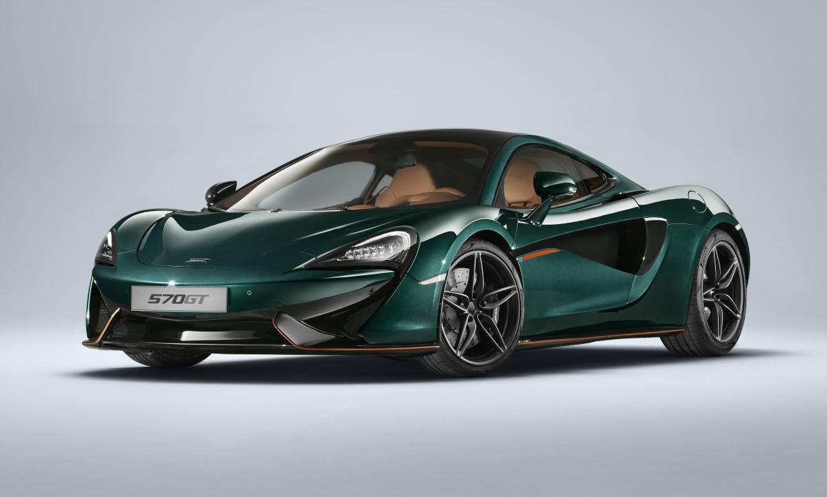 Mclaren 570GT XP Green