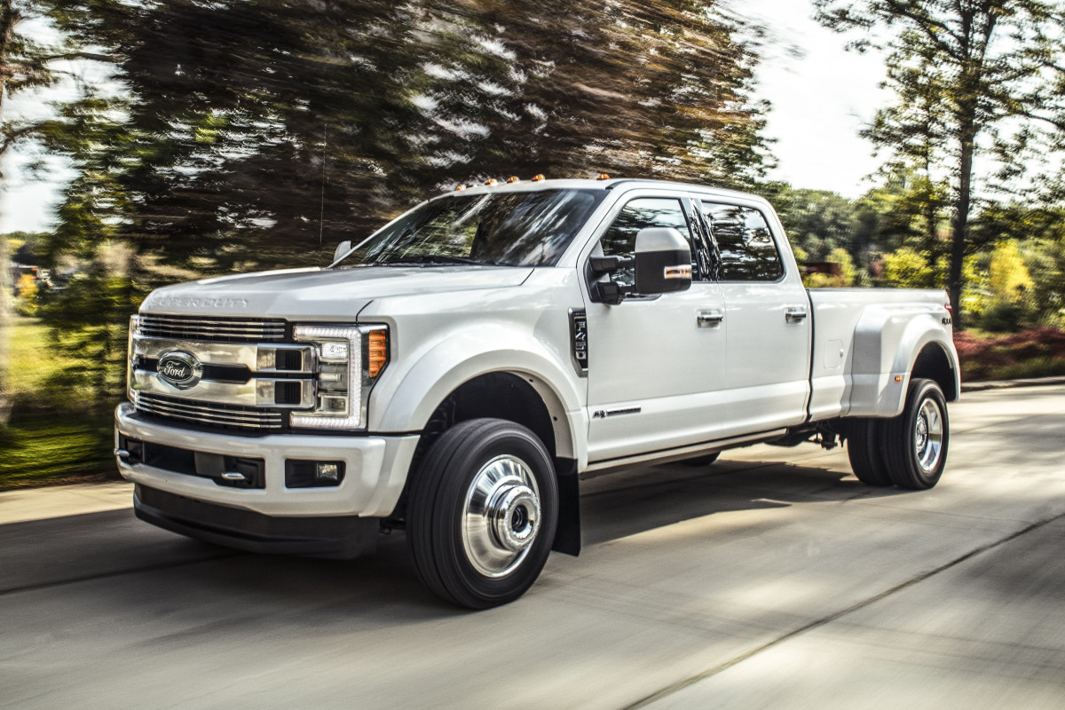 ford reveals  biggest baddest   luxurious truck  acquire