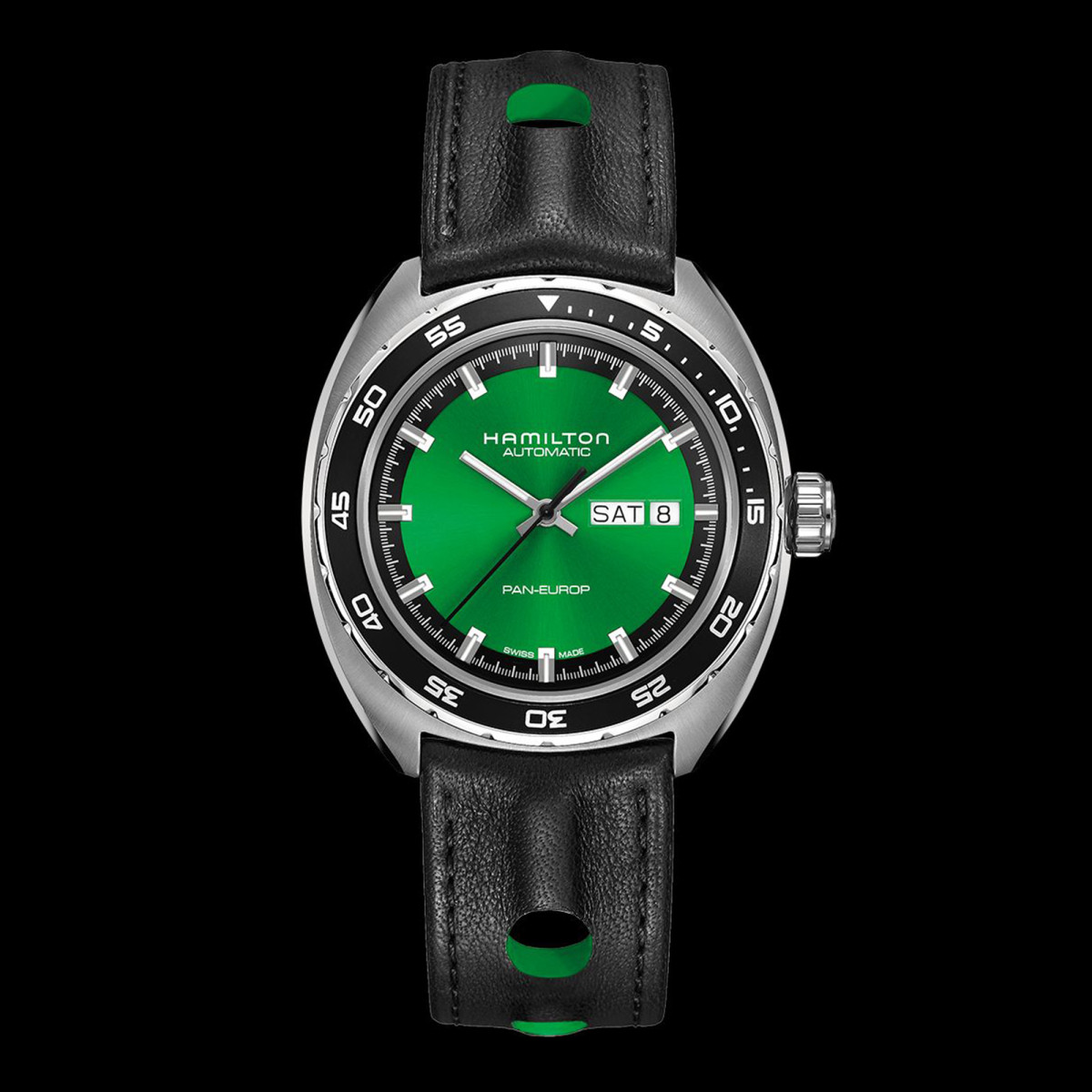 Hamilton S Pan Europ Turns Green In Its Latest Re Release
