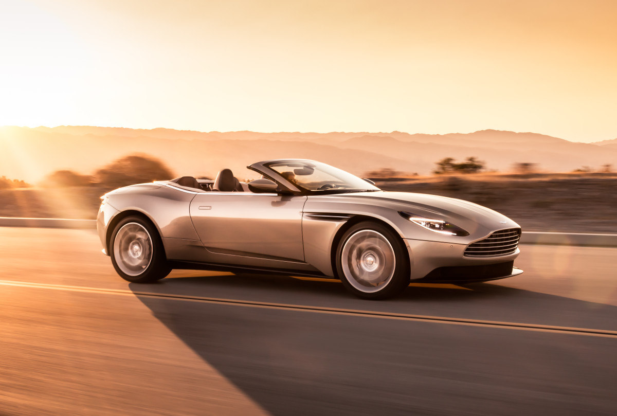 Aston Martin reveals the DB11 Volante