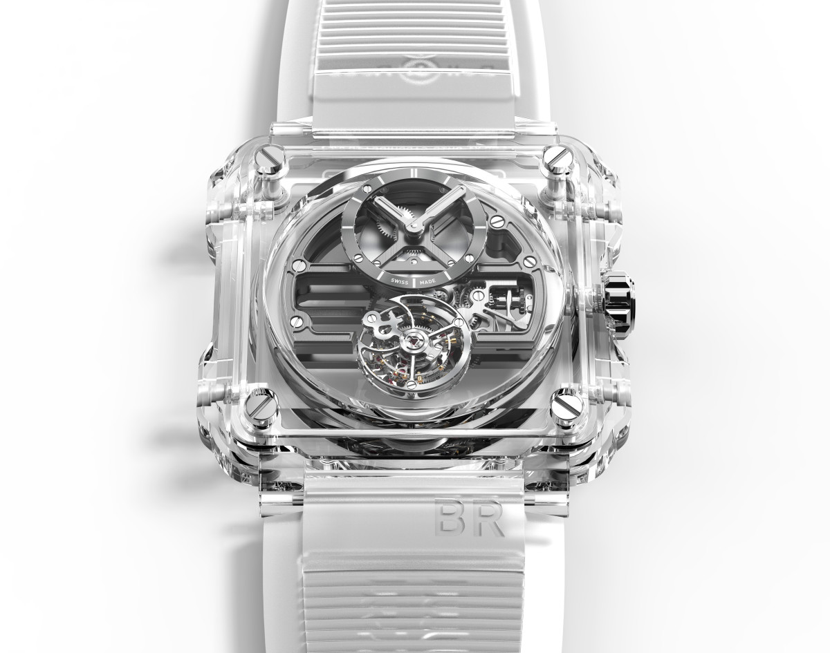Bell & Ross X1 Tourbillon Skeleton Sapphhire