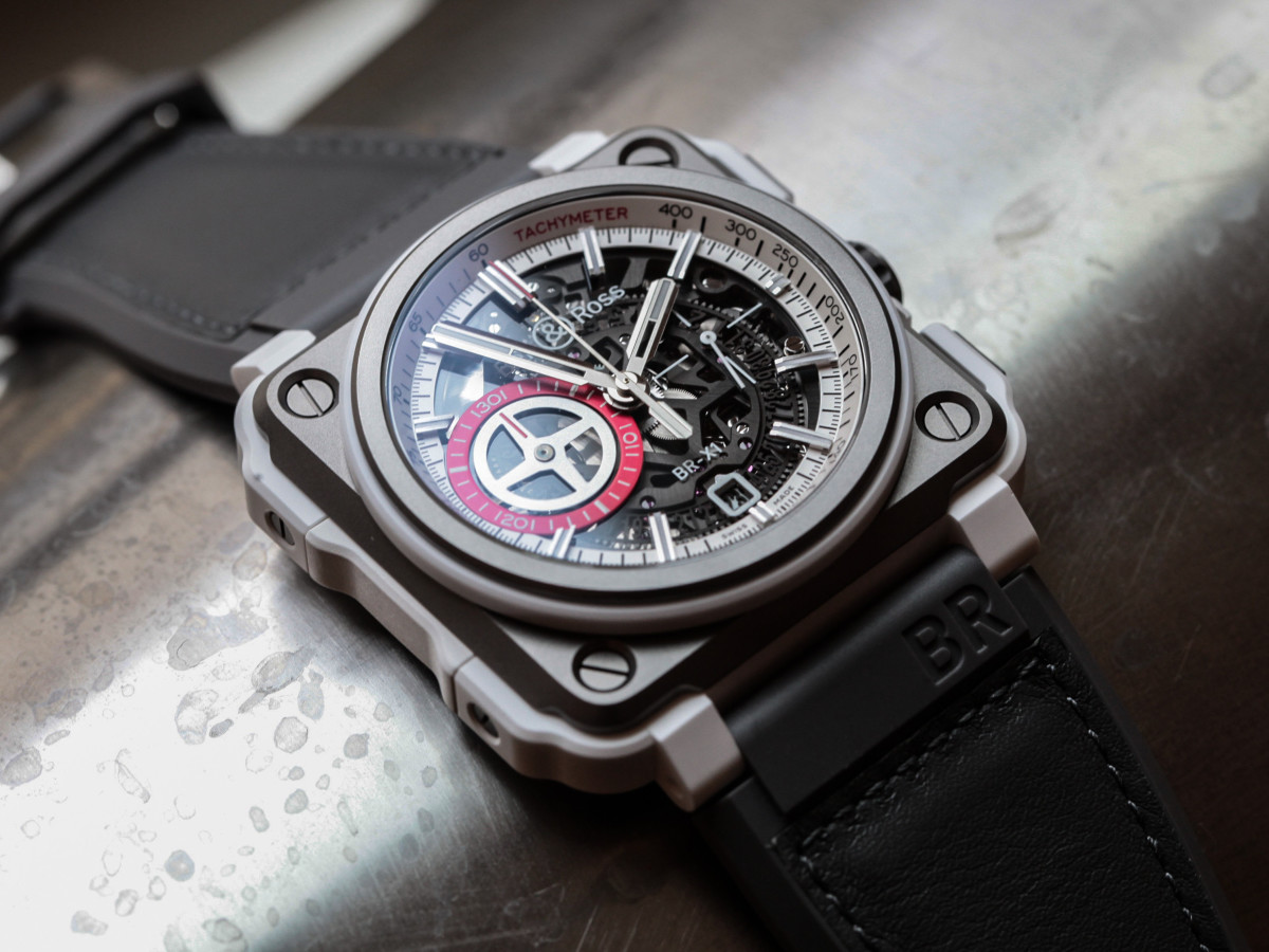 Bell & Ross White Hawk