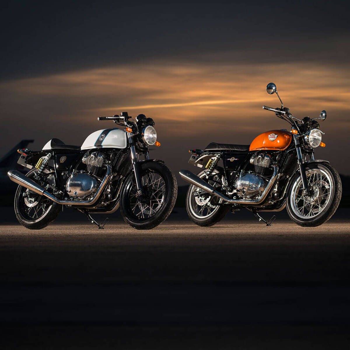 Royal Enfield introduces two new bikes powered by their 650 Twin