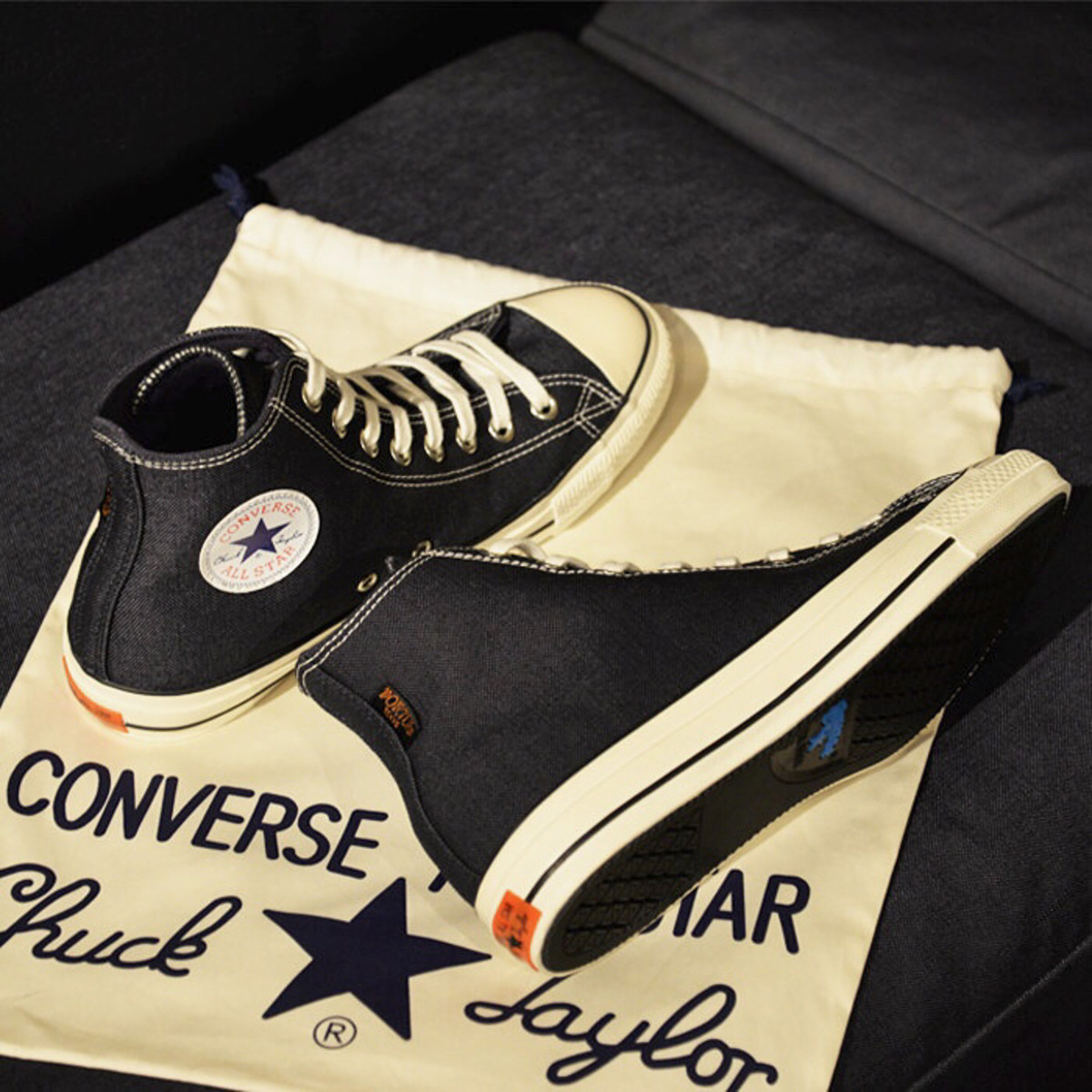 Porter celebrates the 100th Anniversary of the Chuck Taylor