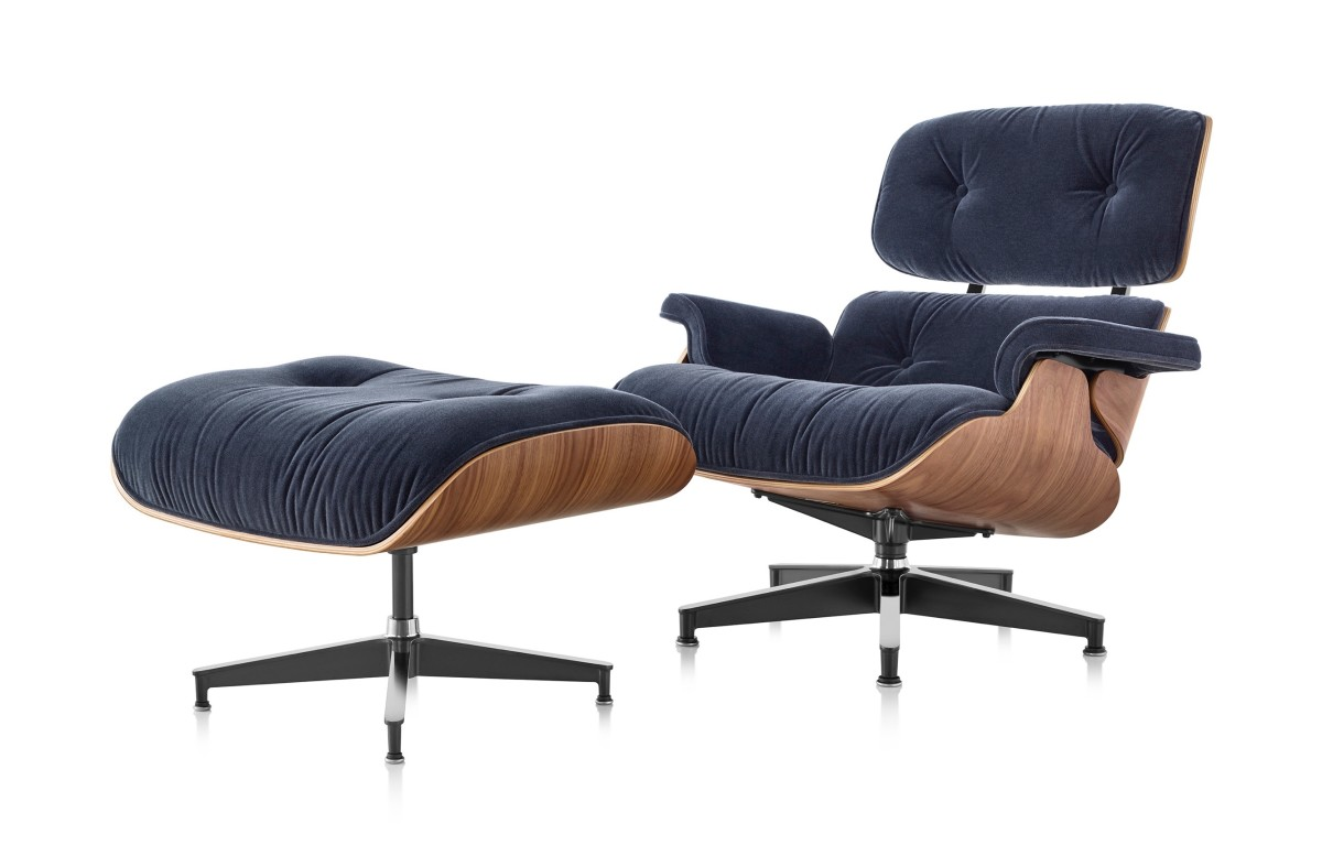 Super Eames Legendary Lounge Chair And Ottoman Now Has A Mohair Pdpeps Interior Chair Design Pdpepsorg