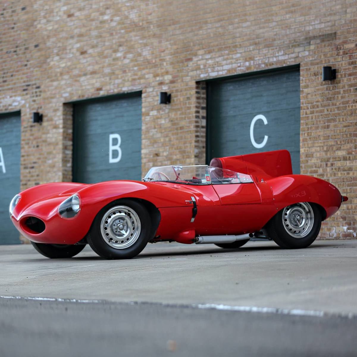 1956 Jaguar D Type
