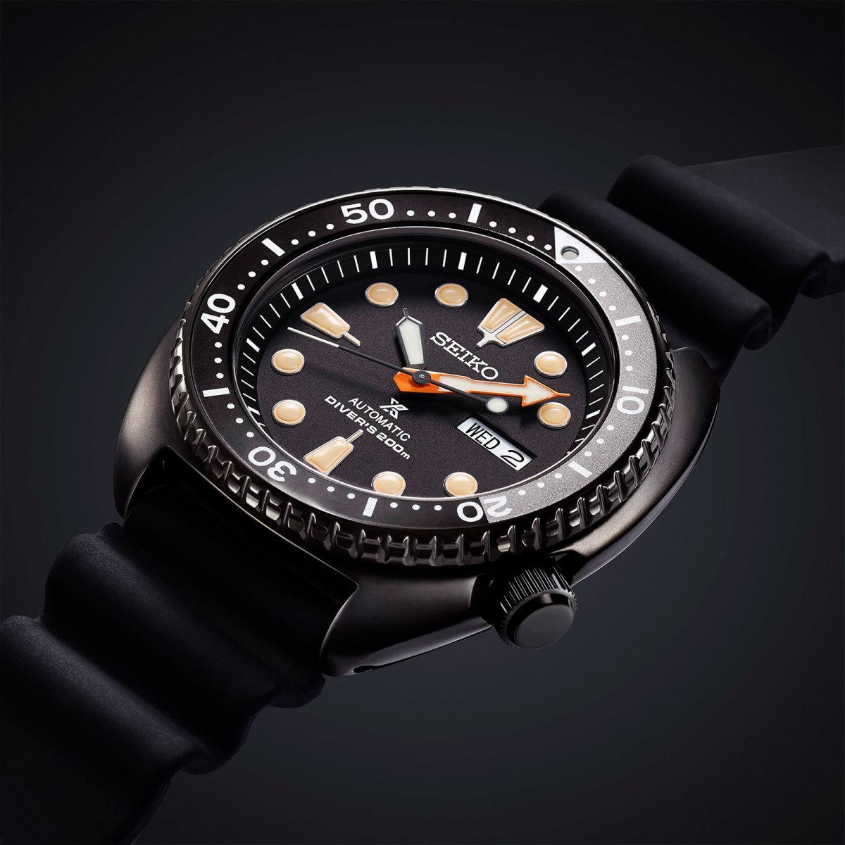 Seiko reveals a trio of Prospex divers in a new black finish