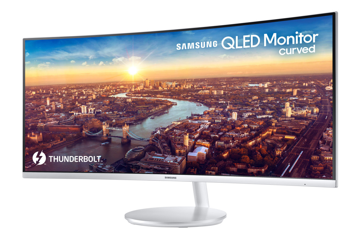 "Samsung 34"" Curved QLED"