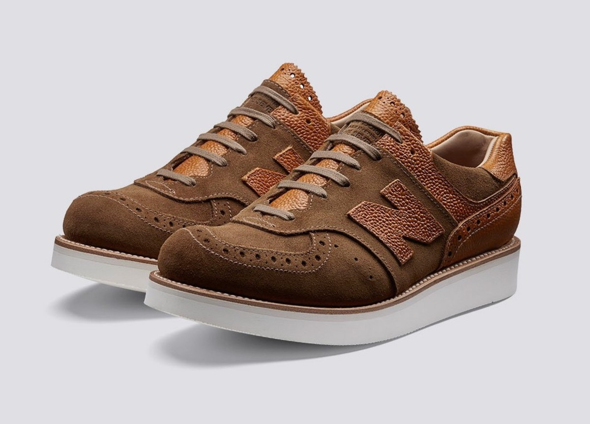 Grenson brings some sartorial style to the New Balance 576