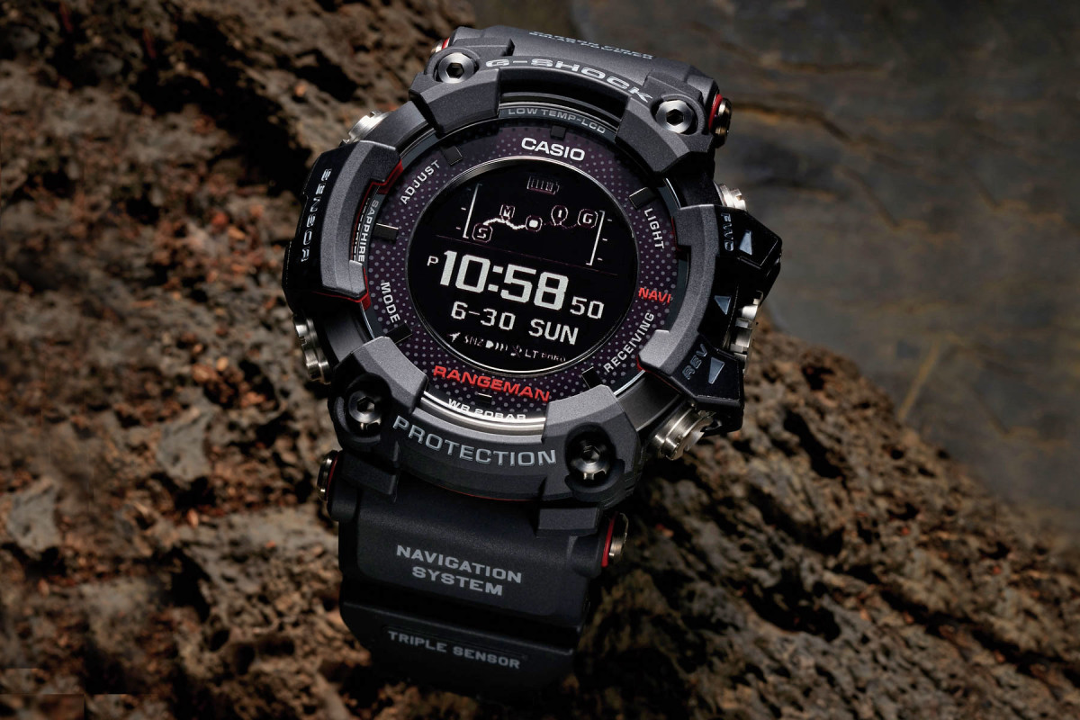 G-Shock puts GPS into their newest Rangeman - Acquire d0600d64d