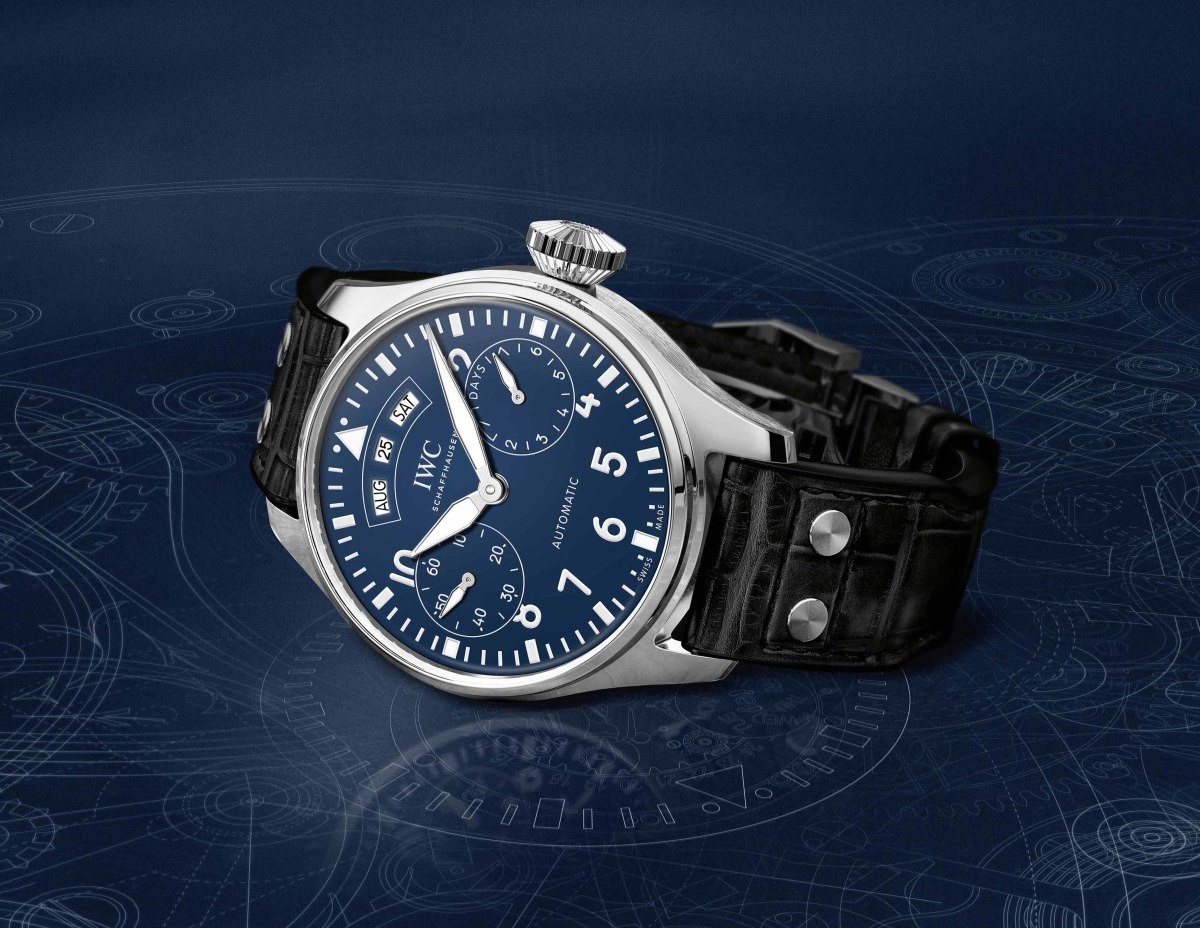 "Big Pilot's Watch Annual Calendar Edition ""150 Years"""