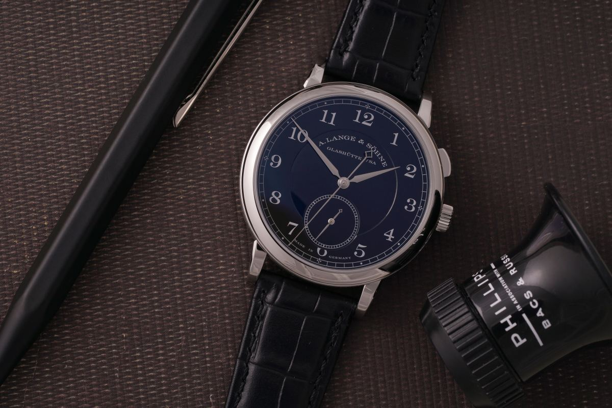 Phillips Auction A. Lange & Sohne 1815 Homage to Walter Lange Stainless Steel (1)