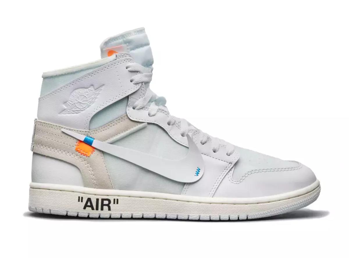 Nike x Virgil Abloh AJ1 White