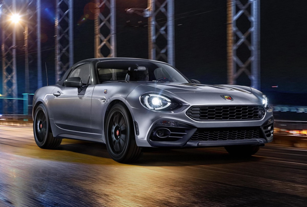 Fiat Is Bringing A Carbon Fiber Roof To The Abarth 124 Gt