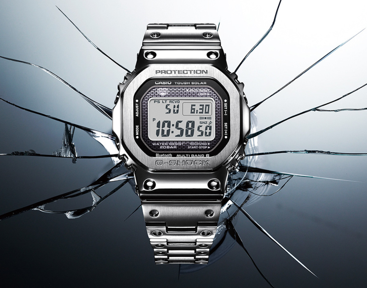 Casio releases its original 5000 Series G-Shock in metal