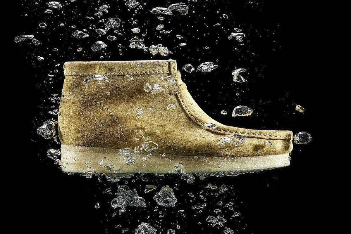 Clarks Wallabee Waterproof Suede