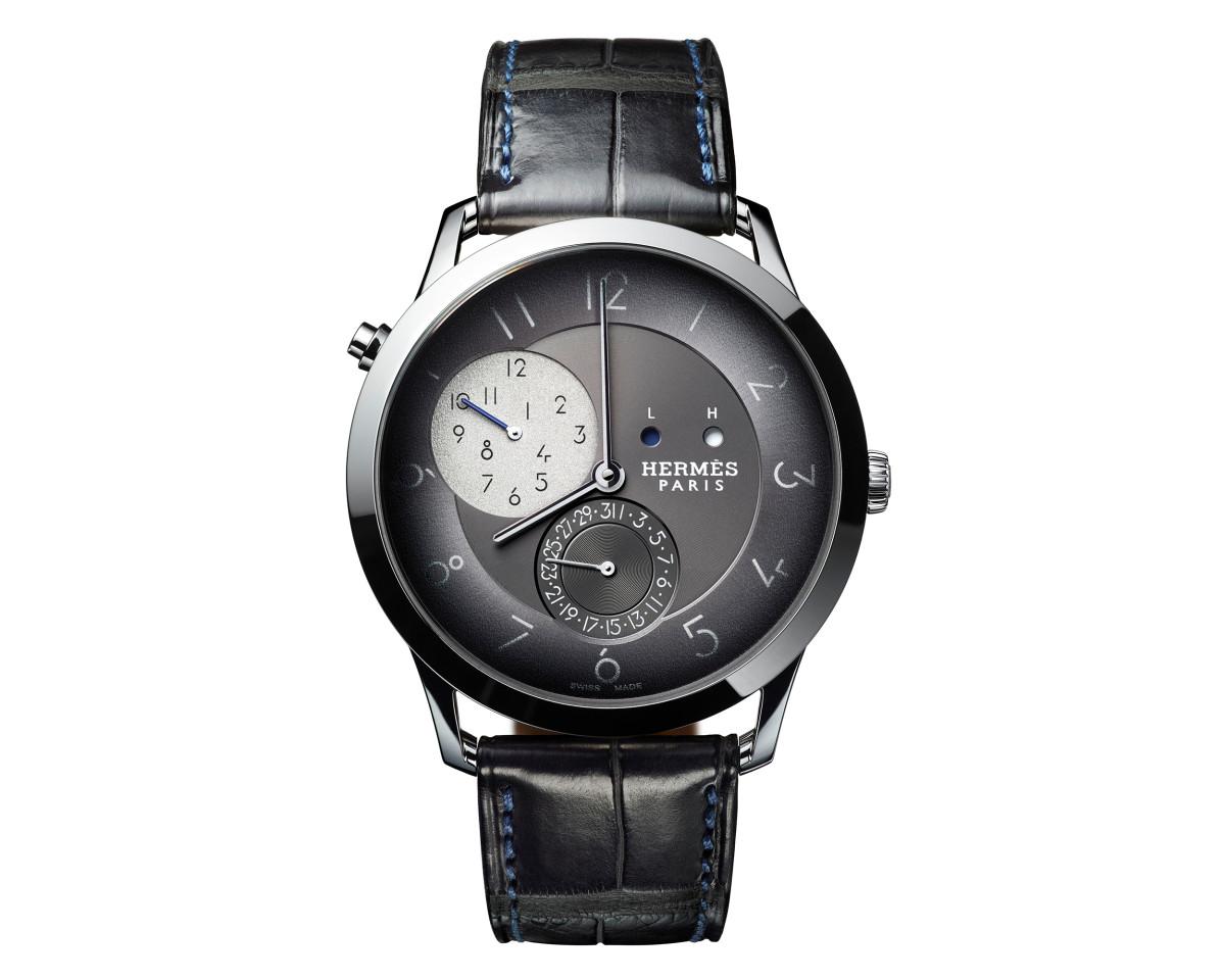 Hermès adds a GMT to its Slim d'Hermès collection