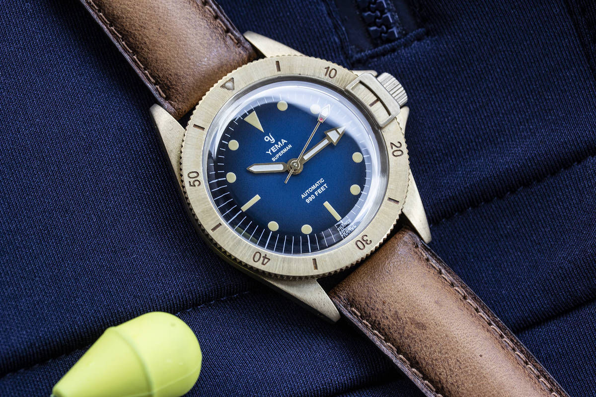 Yema Superman Dive Watch
