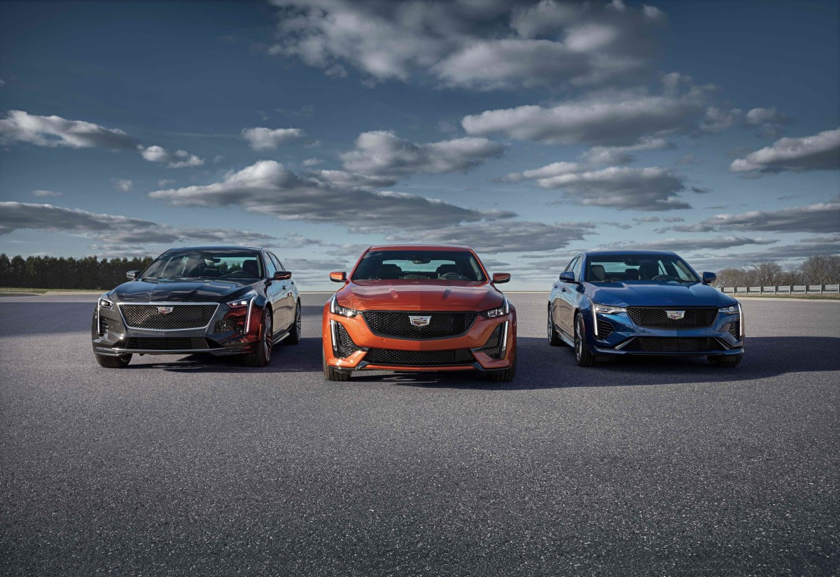 Cadillac adds the 2020 CT4 and CT5 to its V-Series lineup - Acquire