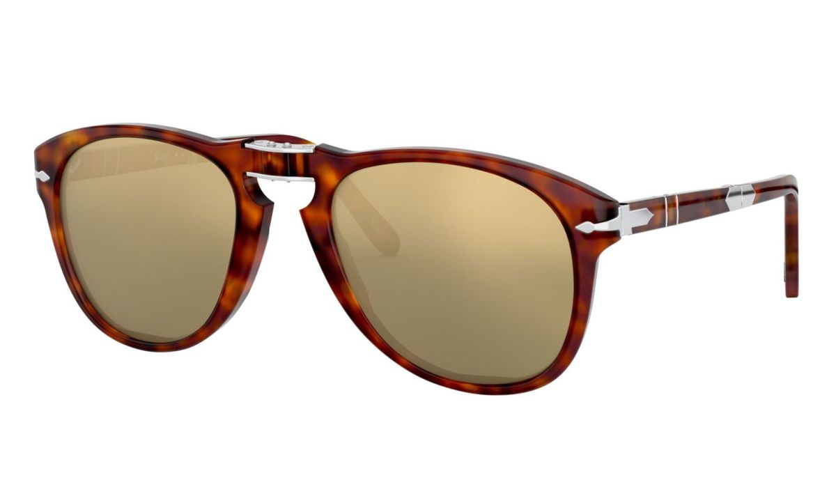 Persol 714 Steve McQueen 24k Gold Plated