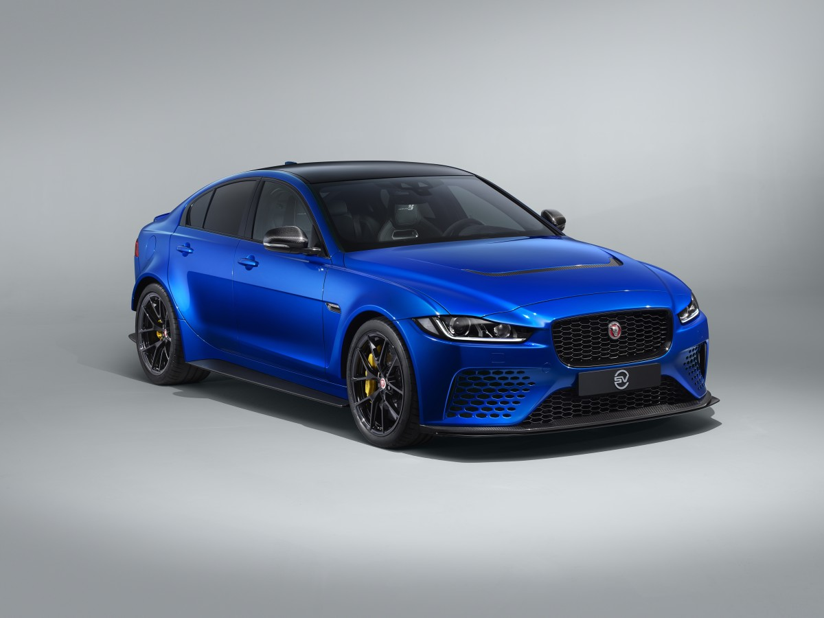Jaguar Project XE SV Project 8