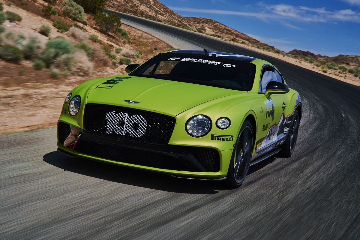 Bentley Continental GT Pike's Peak