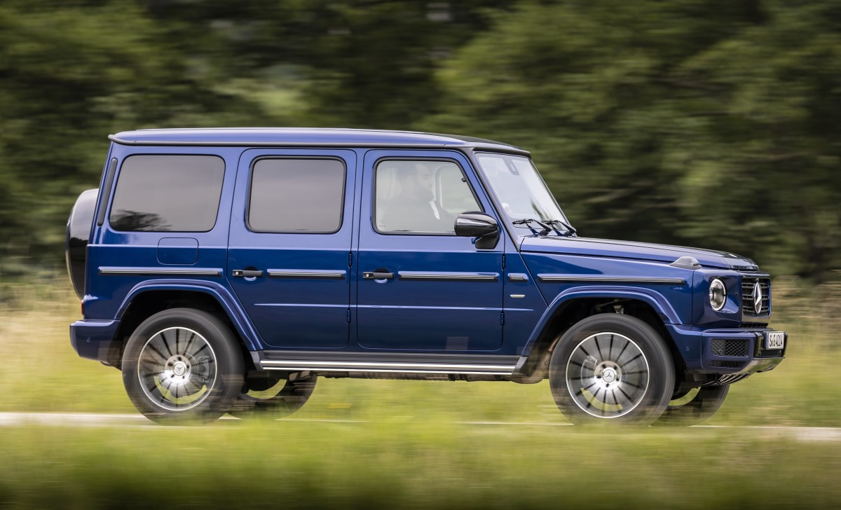 Mercedes-Benz Stronger than Time G Class