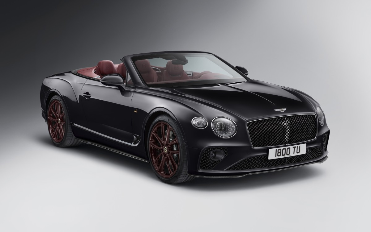 Bentley Continental GTC Convertible Number 1 Edition Mulliner