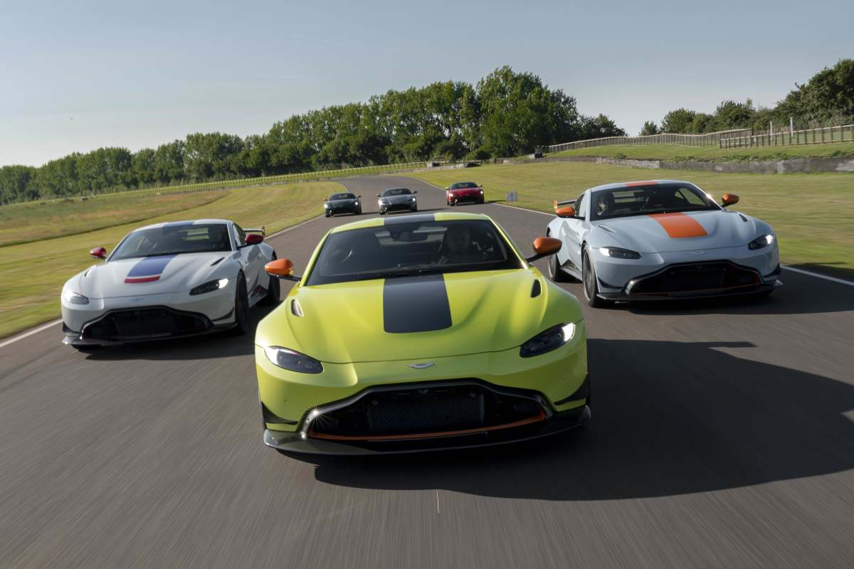 Q by Aston Martin Heritage Racing Edition Vantages