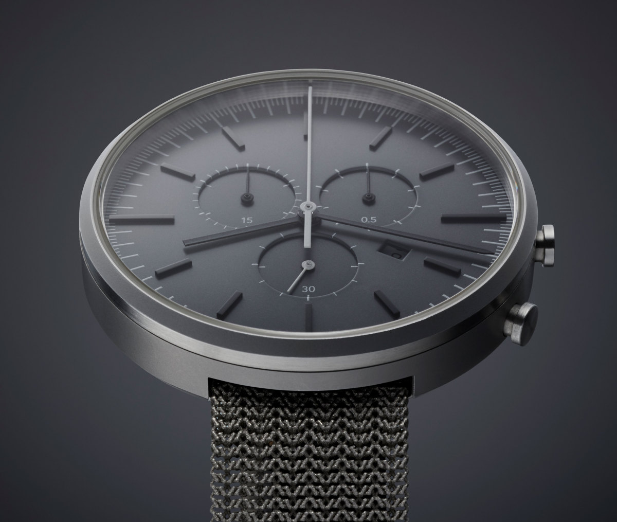 Uniform Wares M42 PreciDrive Titanium Mesh Bracelet