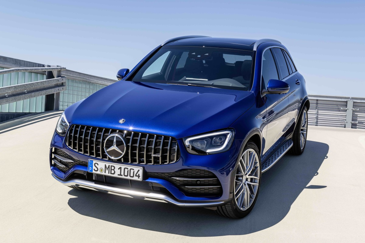 Mercedes-AMG GLC 43 Coupe and SUV