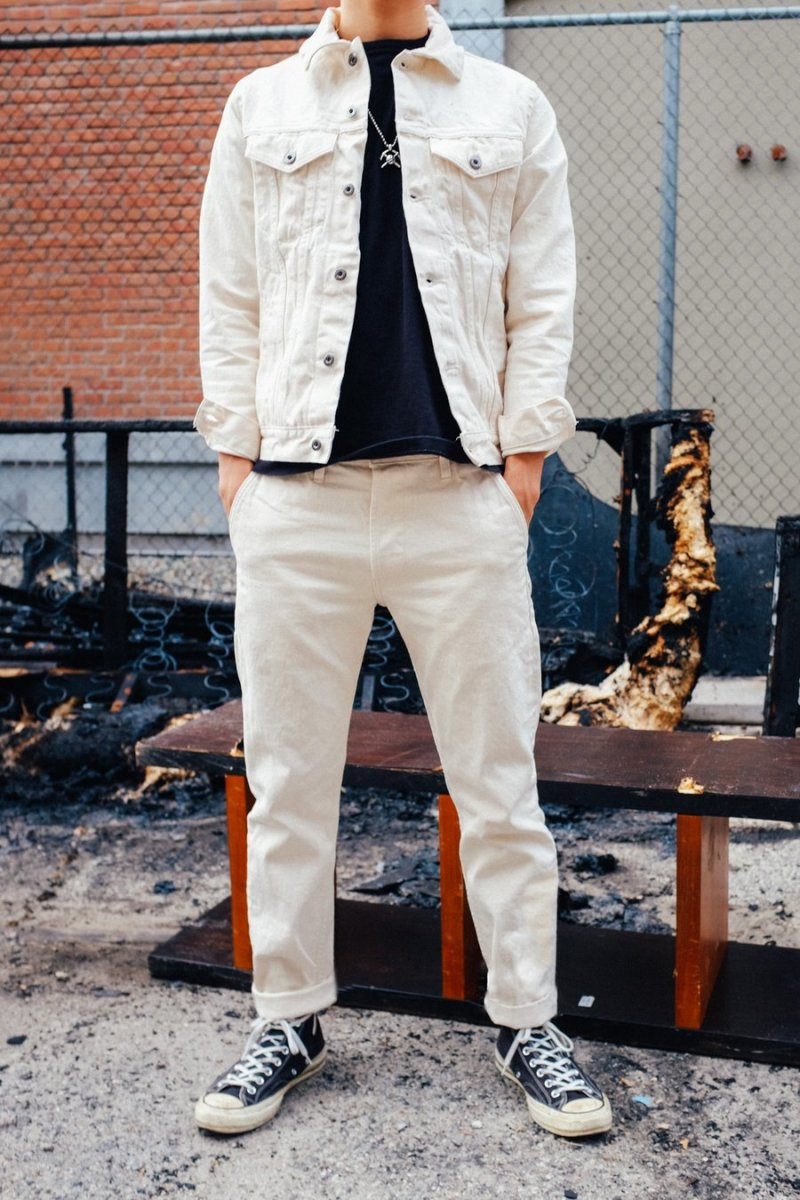 3sixteen Natural Type 3s Jacket and Chinos