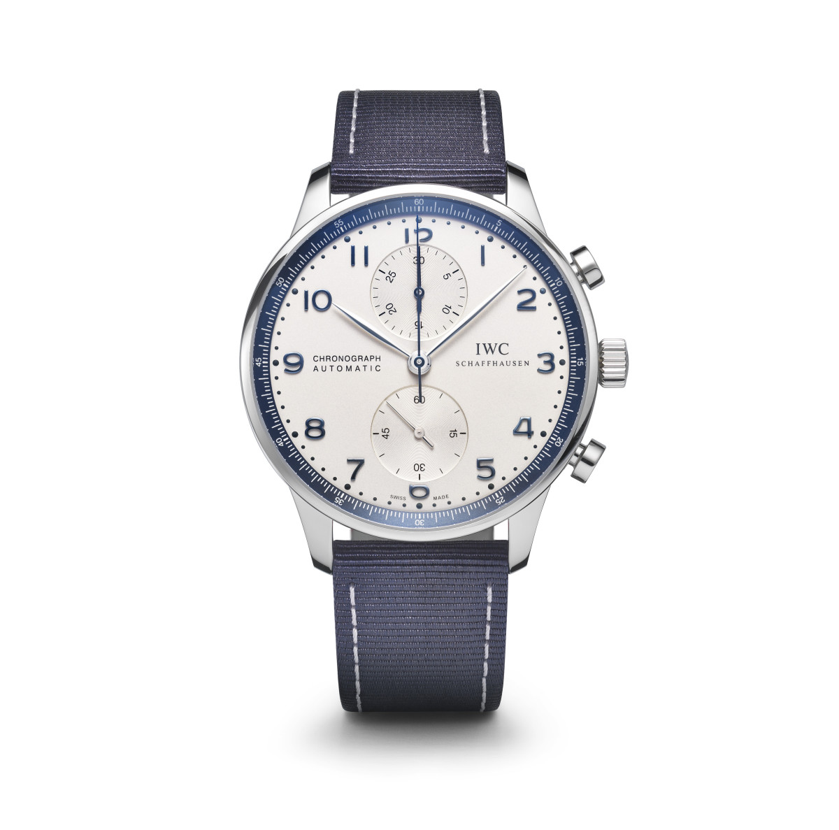 Bucherer and IWC Portugieser Chronograph