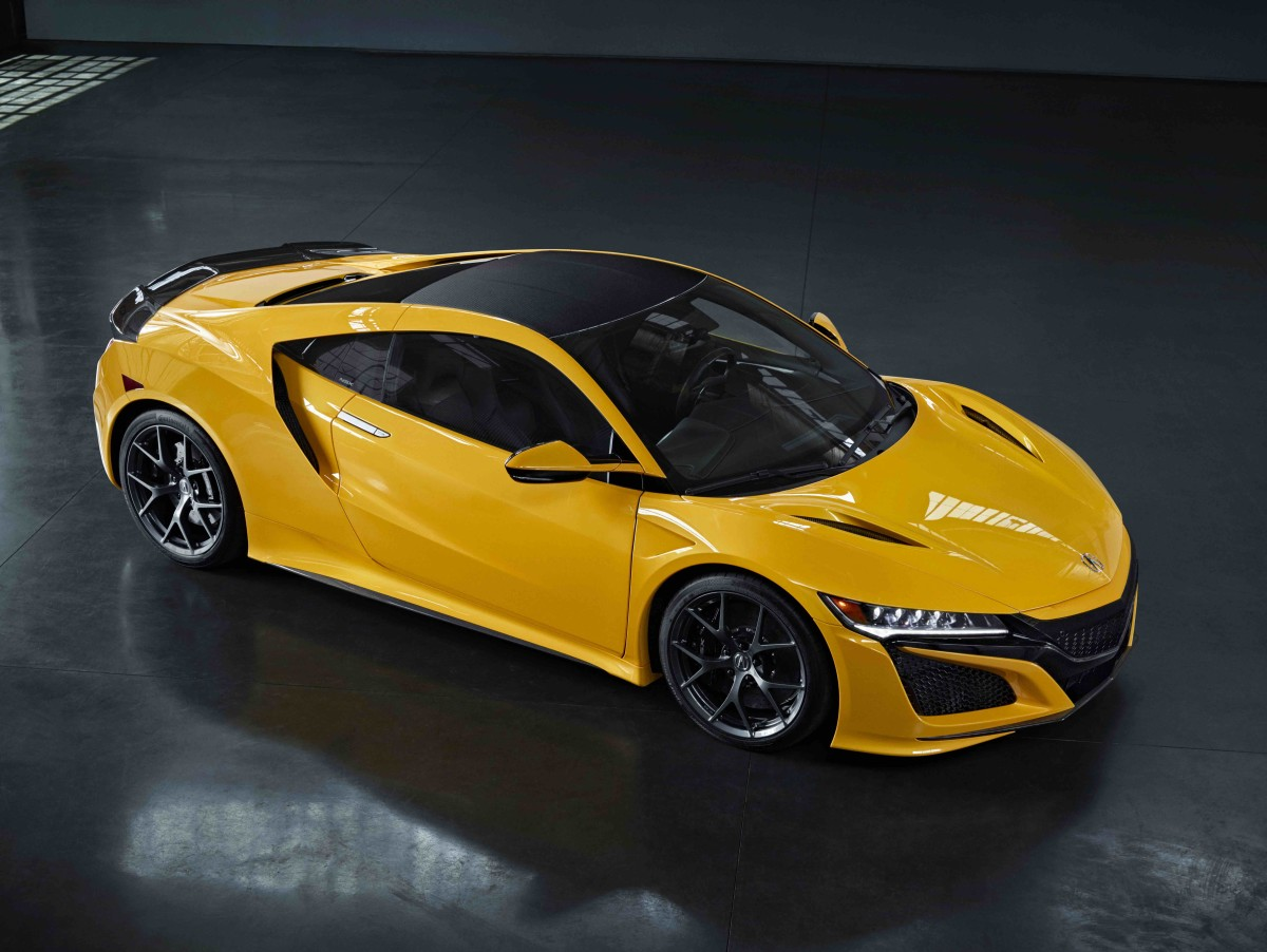 2020 Indy Yellow NSX