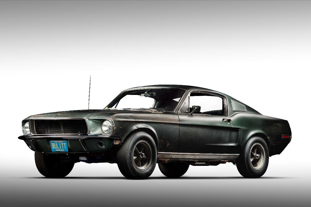 Bullitt Mustang Hero Car