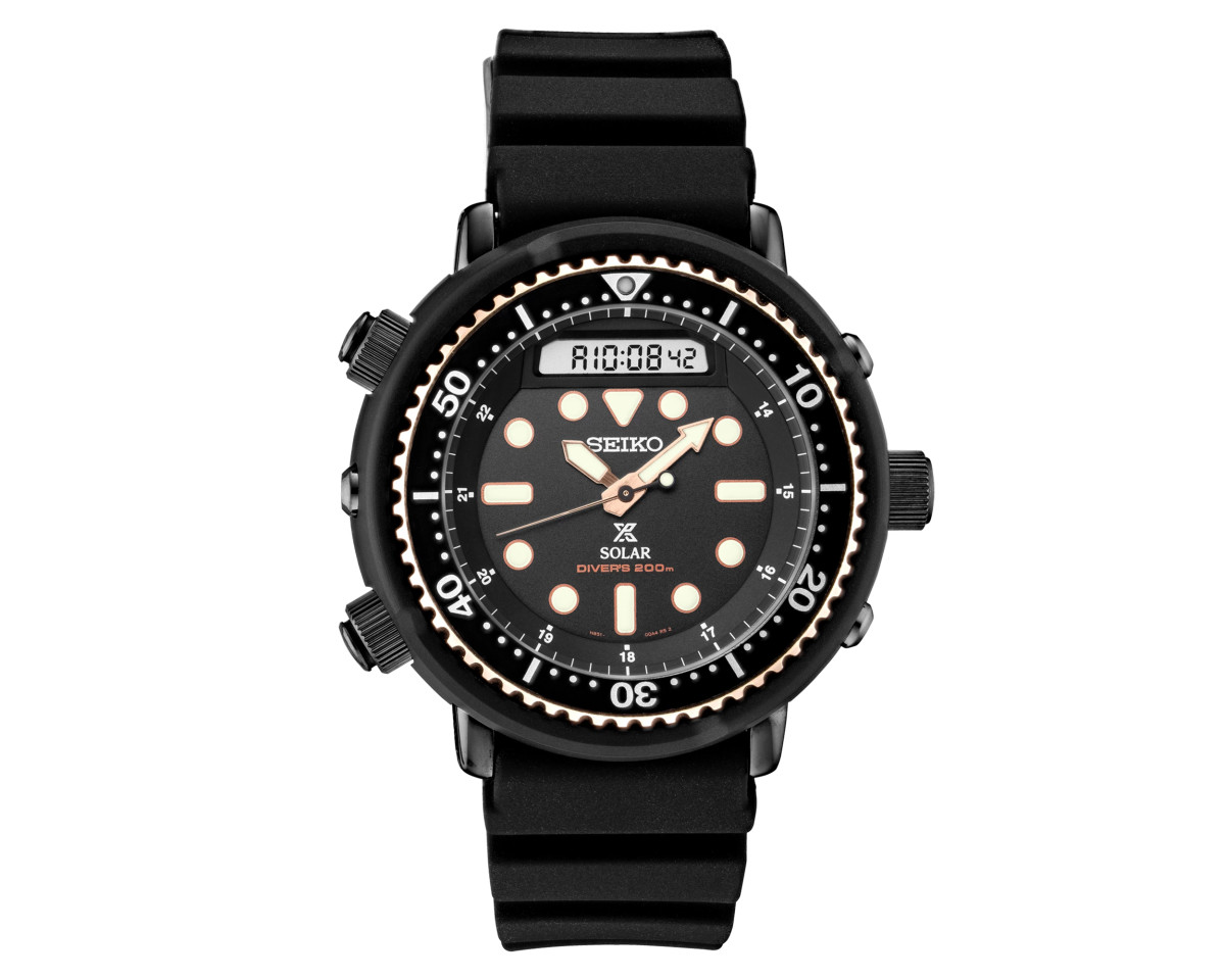 Seiko 1982 Hybrid Diver's Watch