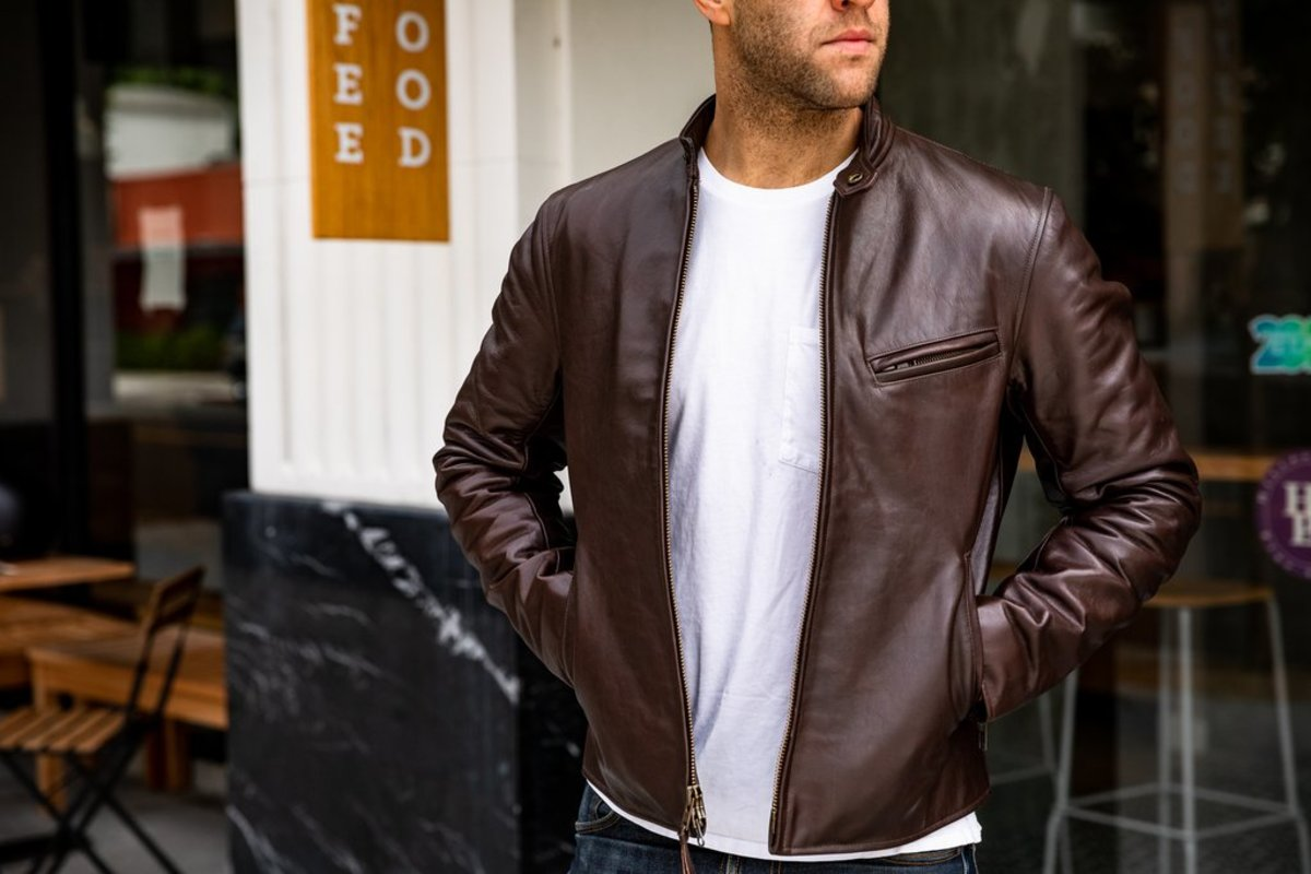 ButterScotch LB x Golden Bear Leather Jacket