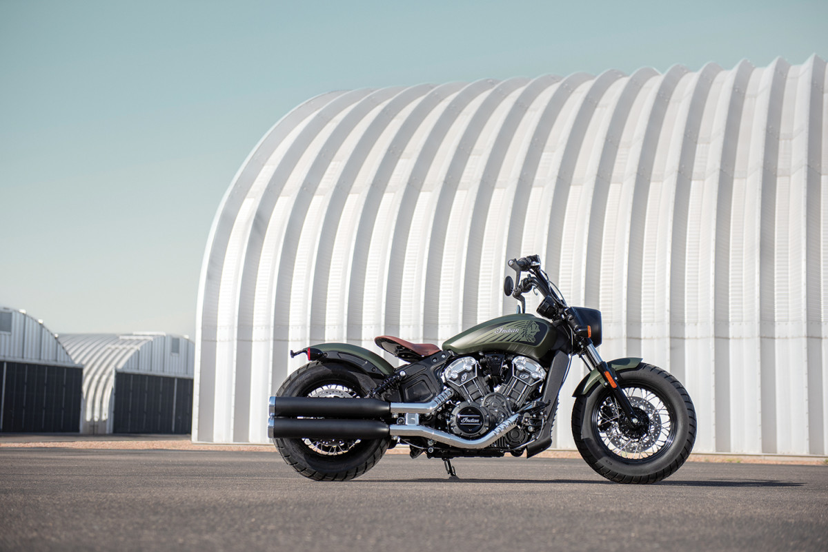 Indian Motorcycle Scout Anniversary Models