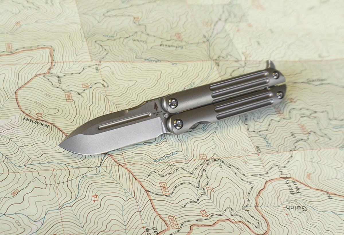 Terrain 365 Mini Butterfly Knife