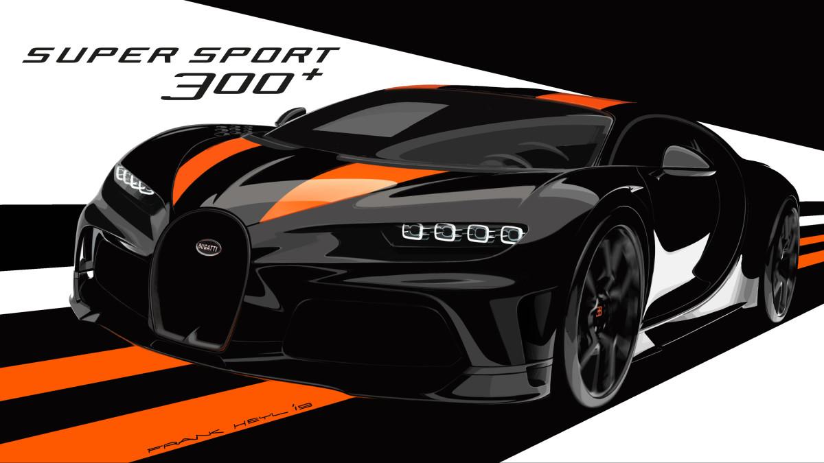 Bugatti Chiron Super Super 300+