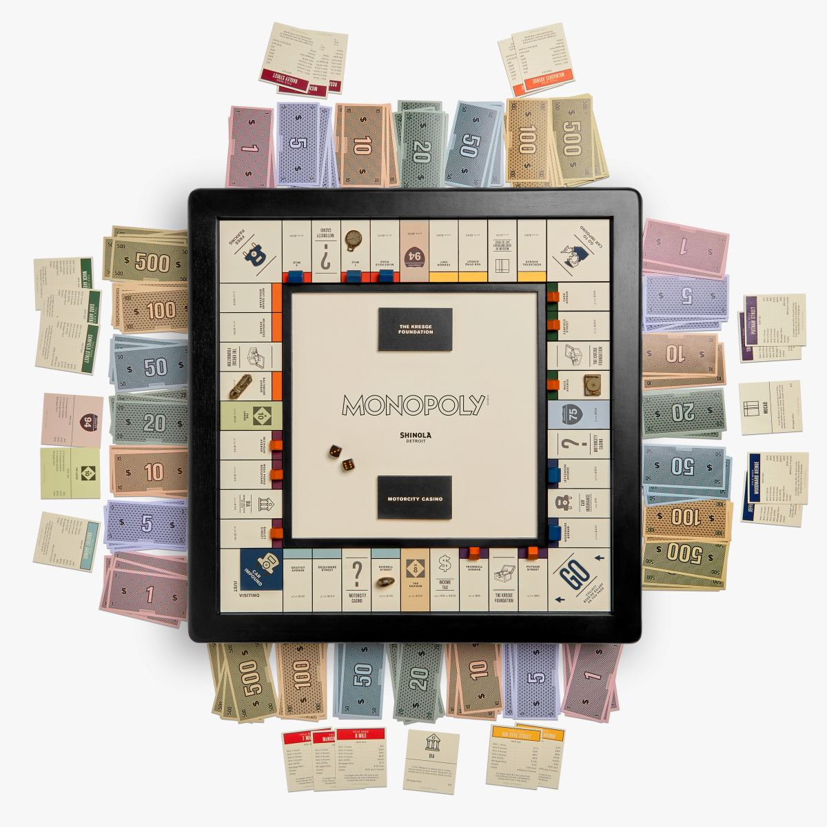 Monopoly: Shinola Detroit Edition