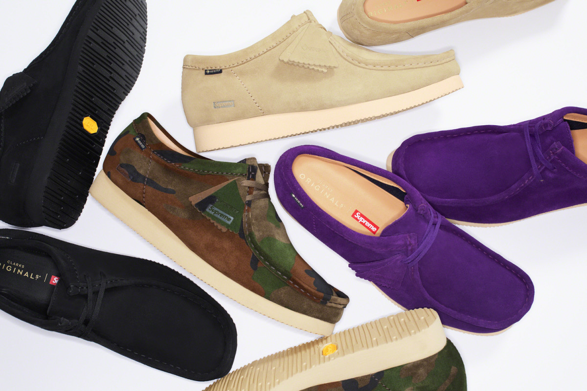 Supreme x Clarks Gore-Tex Wallabee