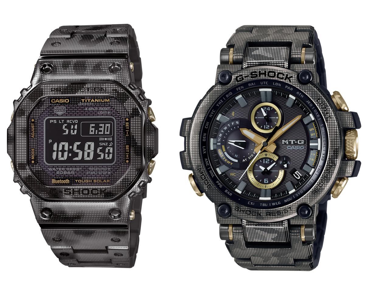 Casio Laser Camo Print watches
