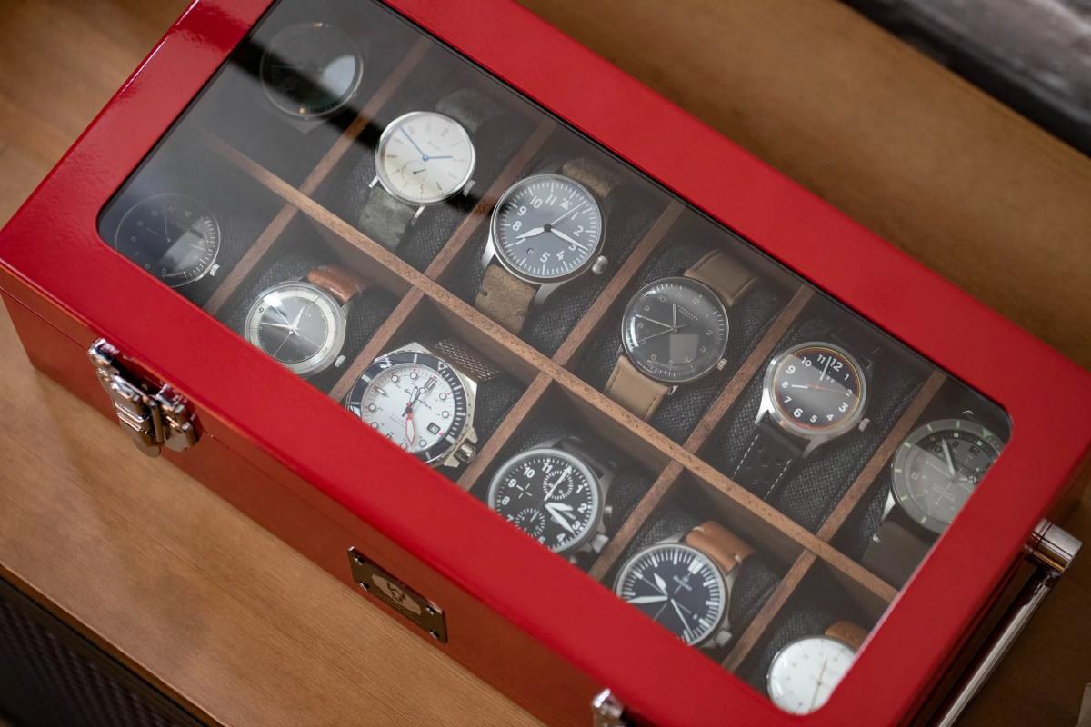 worn&wound Wind Up Tool Watch Box