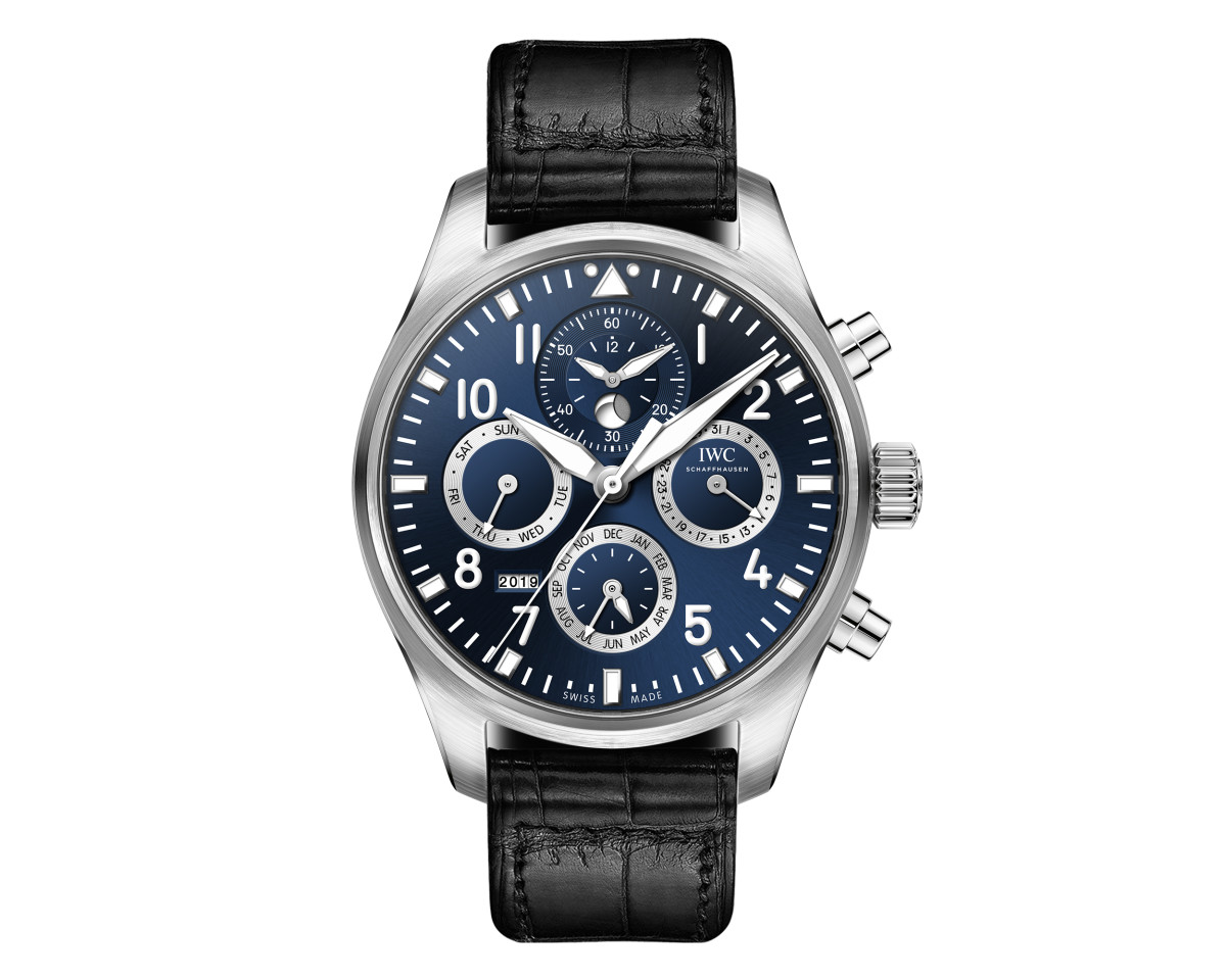 "Pilot's Watch Perpetual Calendar Chronograph Edition ""Laureus Sport for Good"""
