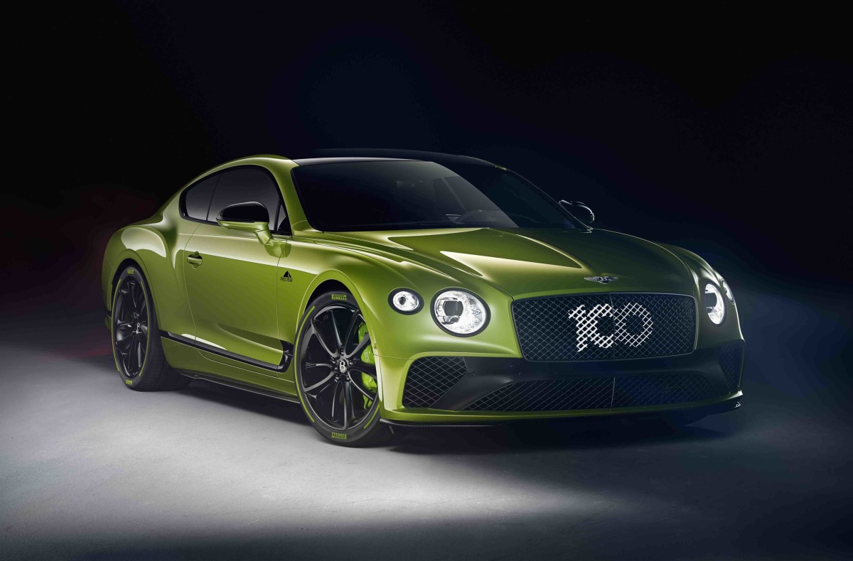 Bentley Continental GT Pikes Peak Record Edition